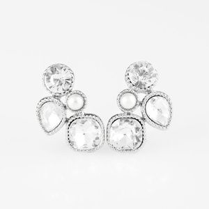 💍 5 for $25 sale! 💍 White Post Earrings